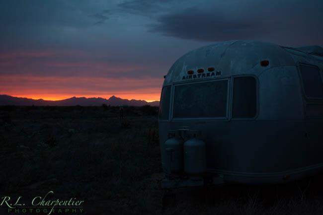 Underexposed Airstream Photo