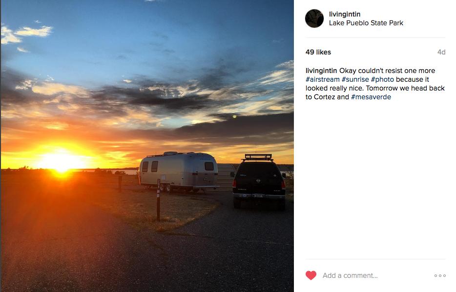 Airstream Instagram Photo